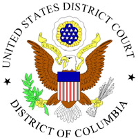 District Cort for the District of Columbia Seal