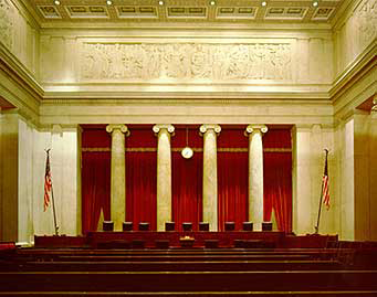 Supreme Court Courtroom