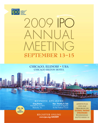 Intellectual property owners association ipo annual meeting