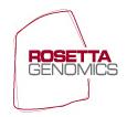 Rosettta Genomics