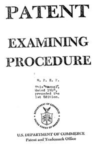 MPEP, Original Cover