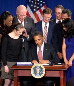 President Signs HR1249_crop