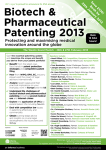 FKW82348_-_Biotech_&_Pharma_Patenting_2013_-_Latest_agenda-1