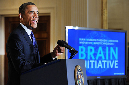 Obama Announces BRAIN Initiative
