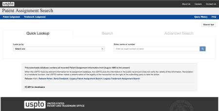 Assignment Search Screenshot